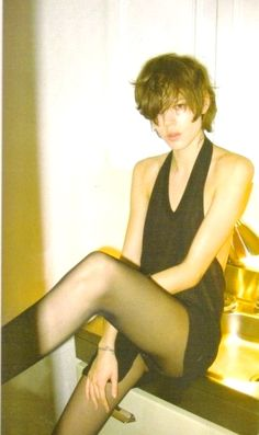 Fashion pictures or video of Freja Beha Erichsen in i-D magazine February in the fashion photography channel 'Photo Shoots'. Pretty Boys, Cute Boys, Freja Beha Erichsen, Fembois, Gender Bender, Girl Short Hair, Duffy, John Lennon, Mannequins