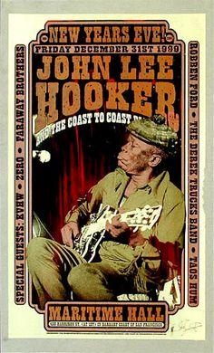 Firehouse John Lee Hooker Poster