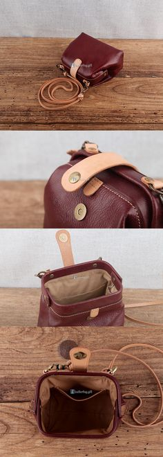 $149.10 Brown Leather Shoulder Bag Women Handbags