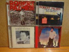 ROBERT PALMER. CONJUNTO DE 4 CDS DE BUENA CALIDAD. OCASIÓN.