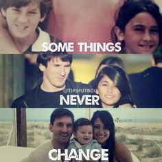 Messi and Antonella - what a love story..
