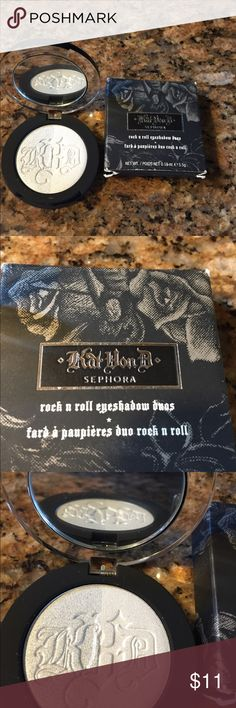 Kat Von D Rock n Roll Eyeshadow  Duos New in Box Kat Von D Rock n Roll Eyeshadow  Duos New in Box color is Believer Kat Von D Makeup Eyeshadow