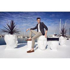 Adan Stool, Outdoor Lighted Furniture Design at Cassoni.com