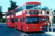 Old Well Hall Bus Garage 1970's