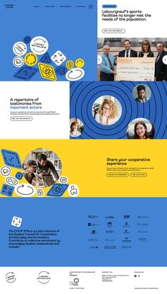 Effet COOP | Land-book - the finest hand-picked website inspirations Landing Page Design, Inspire Others, Cool Websites, How To Introduce Yourself, Books, Business, Libros, Book, Store
