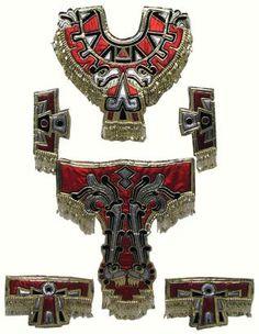 Trajes de azteca, concheros, Danzantes de la Virgen de Guadalupe, Trajes Prehispanicos            Danza de Los Concheros      Entre las d...