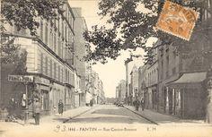 Pantin -  rue cartier bresson