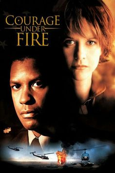 Pin 9 (#9) Perspectives on Women & Girls. In the movie Courage Under Fire, Denzel Washington wasn't very intimate with this female in the movie but in a different sense as he is investigating her to see whether or not she deserves an award.