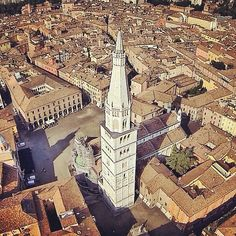 Modena from above- Instagram by chiccoricci