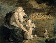 Le sacrifice d'Isaac, par William Blake