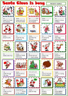 Santa is busy