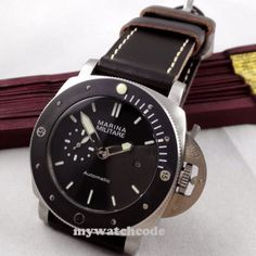 ●Case Material : Solid stainless steel with uni-directional bezel ( ceramic bezel). ●Dial : black dail with luminous makrs ,luminous hands. from Oct,it include a watch and a box,it can serve as a gift,send. Cheap Watches, Watches For Men, 316l Stainless Steel, Ceramics, Accessories, Black, Ceramica, Pottery, Men's Watches