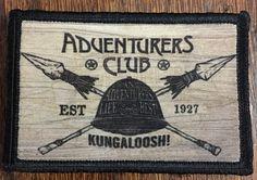 "Adventurers Club ""Kungaloosh"" Morale Patch Disney Pleasure Island"