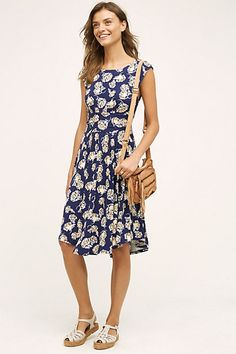 South Shore Dress but in red #anthropologie