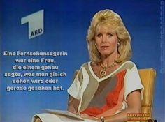 *** ach ja, sowas gab's ja auch mal *** Westfernsehen ***