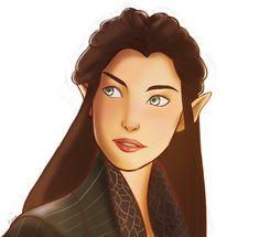 Арвен   Arwen by Esthea