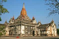 The Ananda Pagoda. Bagan, Myanmar. Completed in 1105