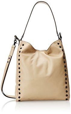 Women's Shoulder Bags - LOEFFLER RANDALL Hobo Shoulder BagNaturalBlackOne Size -- Want to know more, click on the image.