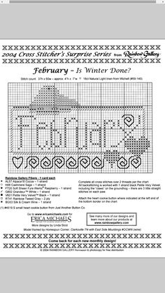 Is Winter Done? - February #02 Design By: Erica Michaels
