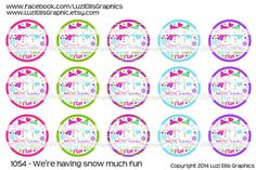 We're having Snow much Fun digital download for 1 by MaddieZee
