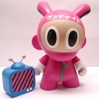 so cute! pink jumpsuit munny