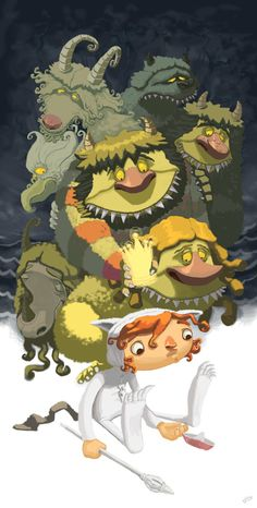 Arthoons: Where the Wild Things Are