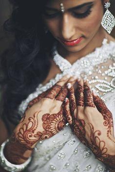 beautifulsouthasianbrides:  Photo by:Andras Schram Henna by:Shafeena Premji