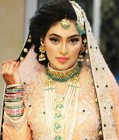 Pakistani Bride - Natasha Salon Bridal makeup.....gorgeous bride