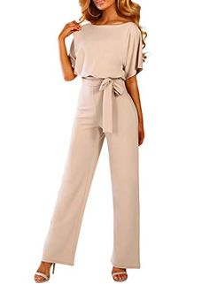 Xs Kurzärmlig Various Styles Kleidung & Accessoires Damenmode Straightforward Jumpsuit Grau Gr