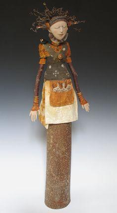 "Akira Blount's ""Wealth of Place"" Art Doll"