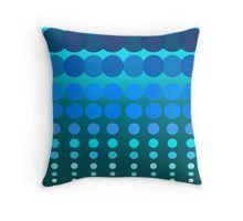 Polka Dots Madness Blue/Green Throw Pillow Madness, Folk Art, Blue Green, Living Spaces, Polka Dots, Throw Pillows, Texture, Blanket, Color