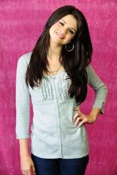 selina gomez: she is so so so so so so pretty. she is good at singing too!!!!!!!!!!!!!!