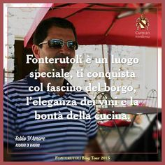 Da Fabio D'Amore del blog Assaggi di Viaggio un pensiero sull'esperienza del blog tour a Fonterutoli. @marchesimazzei #mazzei #fonterutoli #tuscany #wine