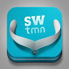 SW TMN iOS Icon by Jorge Olino, via Behance