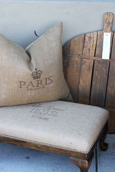 .Linen Bench To-Do