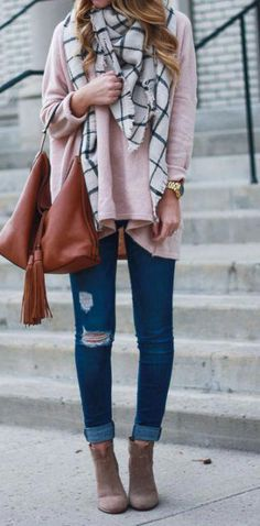Fall Winter Blanket Scarves Fashion Outfits.  ilymixAccessories  fall   winter  style   945b8d3925