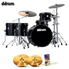 ddrum JMR522WRGRPN Journeyman Rambler 5Piece Drum Set Black ** More info could be found at the image url.(It is Amazon affiliate link) #america