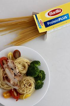 ice cream + french fries: Protein Packed Lunch with Barilla Pasta