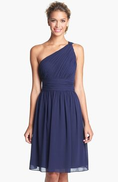 Navy Blue Wedding Dresses Navy Blue Bridesmaid Dresses on Pinterest | Alfred Sung, Monique ...