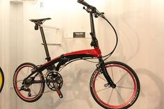 Tern folding bike. Nice kit!
