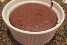 Moelleux au chocolat à 0 SP WW, recette d'un délicieux petit gâteau sans farine et sans matière grasse, idéal pour le goûter.