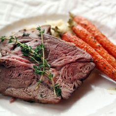 Roast leg of lamb is a popular springtime dish - here is a super simple way to prepare it!