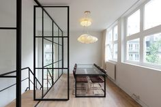 Studio Aa transforms Amsterdam boiler house into contemporary office space Contemporary Chairs, Contemporary Apartment, Contemporary Office, Contemporary Bedroom, Contemporary Cottage, Contemporary Wallpaper, Contemporary Chandelier, Contemporary Landscape, Contemporary Architecture
