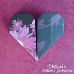 Very easy and simple origami heart tutorial ideal for kids Can make a Valentine wreath out of these