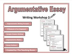 writing workshop argumentative essay middle school high  ccss alignedtable of contents common core standards what is an argumentative essay argumentative essay purpose