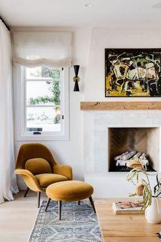 Home Living Room, Living Room Designs, Living Room Decor, Living Spaces, Interior Modern, Interior Design, Cozy House, Home Decor Inspiration, Design Inspiration
