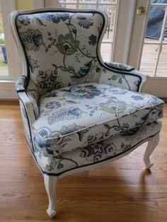 French Bergere in P. Kaufman Linen Totally by WydevenDesigns