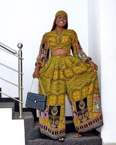 Alex Asoguw- No Stone Unturned In Boogie Ankara Style Diva Fashion, New Fashion, Fashion Trends, Instagram Outfits, Instagram Fashion, Beautiful Ankara Styles, African Fashion, African Style, Yellow Gown