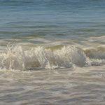 la espuma del mar, óleo sobre tabla, 61x22 cm.