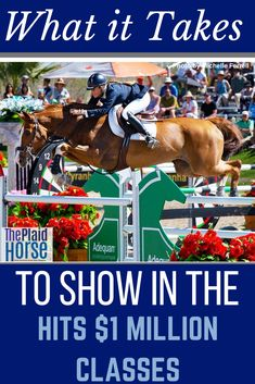Showing in the HITS horse shows come with a steep price tag, one many feel they could never afford. However, this didn't deter professional show jumper, Jenni McAllister. She set a goal to ride in 3 major shows and shares with us her cost-cutting strategies for achieving such a feat. Horse Behavior, Horse Showing, Horse Magazine, Horse Facts, Horse Training Tips, Western Riding, Running Horses, English Riding, Gifts For Horse Lovers